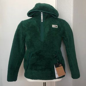 NWT Youth North Face Campshire Sherpa Hoodie